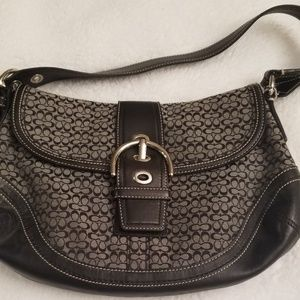 Large Black Coach Soho Purse